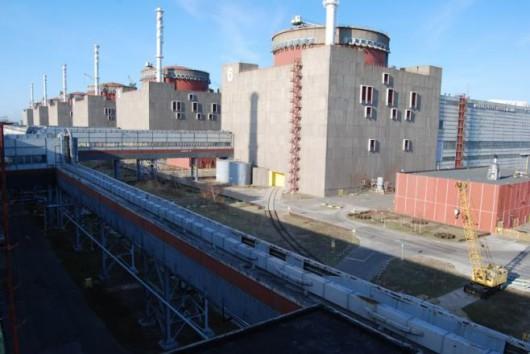 Ukraina - Elektrownia atomowa zaporoże
