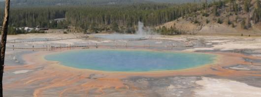 Wielkie Jezioro Pryzmatyczne w Parku Narodowym Yellowstone