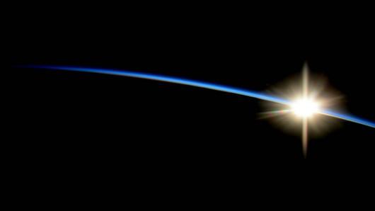 Wschód Słońca z perspektywy ISS