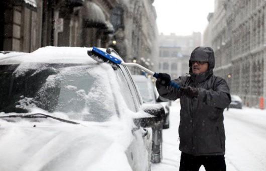 Śnieg w USA