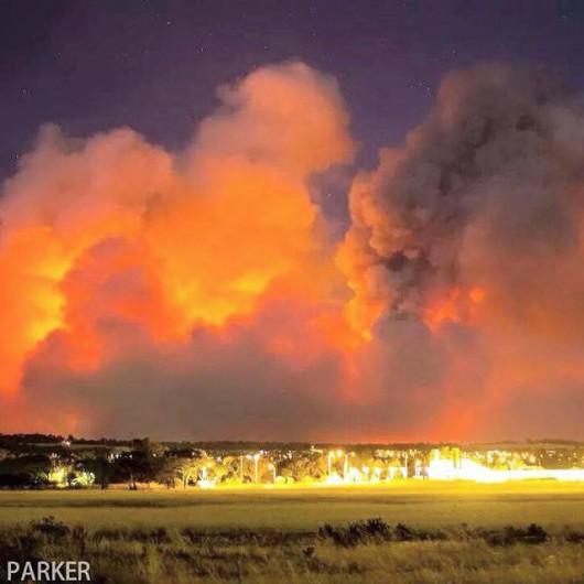 Adelajda, Australia - 40 tysięcy mieszkańców musi opuścić domy z powodu pożaru buszu na południu kraju 2