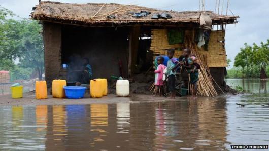 Afryka - Ogromna powódź w Malawi 1