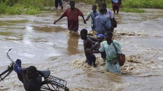 Afryka - Ogromna powódź w Malawi 5