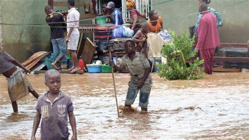 Afryka - Ogromna powódź w Malawi 6