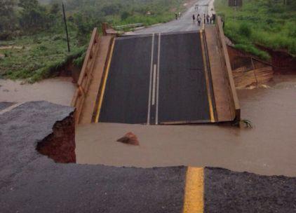 Afryka - Ulewne deszcze i powódź w Mozambiku 1
