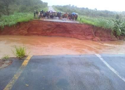 Afryka - Ulewne deszcze i powódź w Mozambiku 2