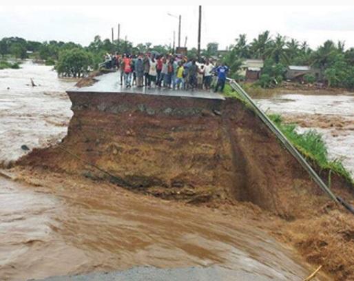Afryka - Ulewne deszcze i powódź w Mozambiku 3