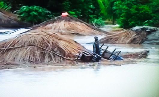 Afryka - Ulewne deszcze i powódź w Mozambiku 4
