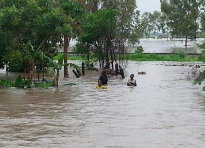 Afryka - Ulewne deszcze i powódź w Mozambiku 8