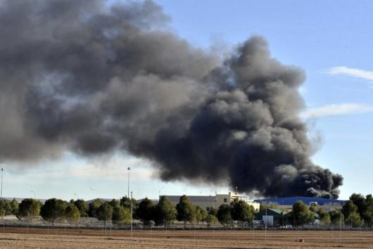 Albacete, Hiszpania - W bazie treningowej rozbił się grecki myśliwiec F-16 2