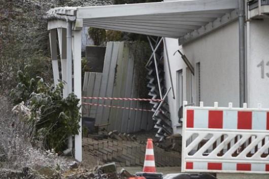 Austria - Powolne osuwisko ziemi w Linz 2