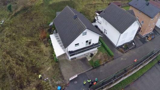 Austria - Powolne osuwisko ziemi w Linz 3