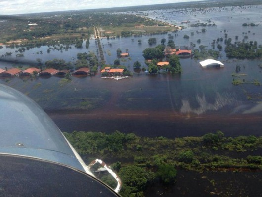 Boliwia - Intensywne opady deszczu spowodowały powódź i osuwiska ziemi 2