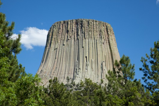 Devils Tower - USA, stan Wyoming