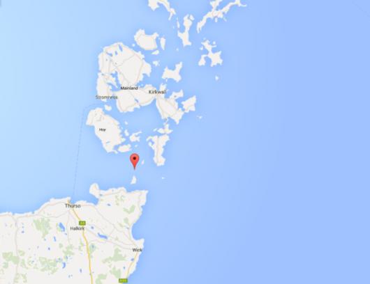 Do zdarzenia doszło w cieśninie Pentland Firth