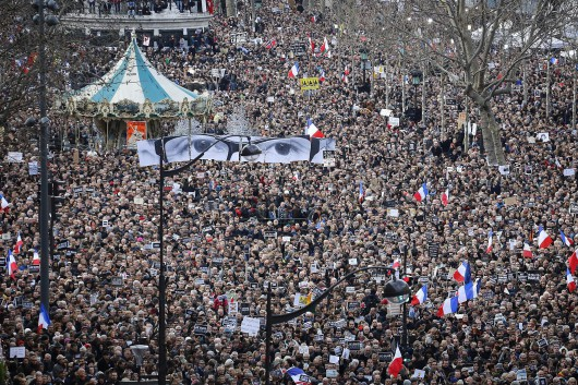 AP France Attacks Rally