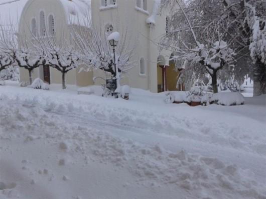 Grecja - 32 wsie odcięte od świata, awarie sieci energetycznych 3