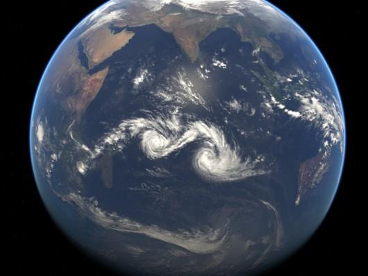 Huragany nad woadmi Oceanu Indyjskiego 28 stycznia