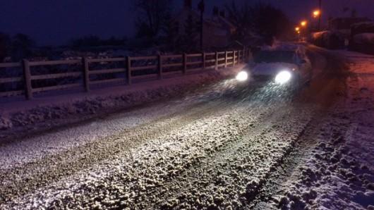 Irlandia Północna - Z powodu intensywnych opadów śniegu zamknięto ponad 200 szkół 1