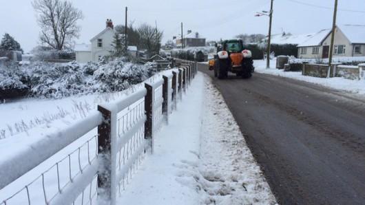 Irlandia Północna - Z powodu intensywnych opadów śniegu zamknięto ponad 200 szkół 4