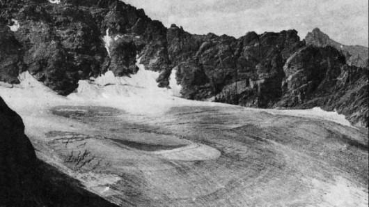 Lodowiec Arlapaho w 1898 roku - Kolorado