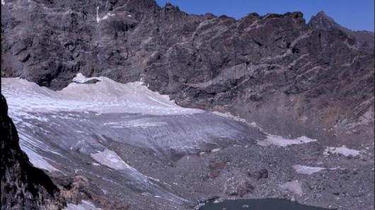 Lodowiec Arlapaho w 2003 roku - Kolorado