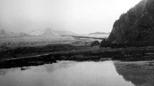 Lodowiec Bear w 1909 roku - Alaska