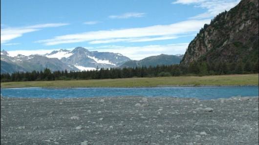 Lodowiec Bear w 2005 roku - Alaska
