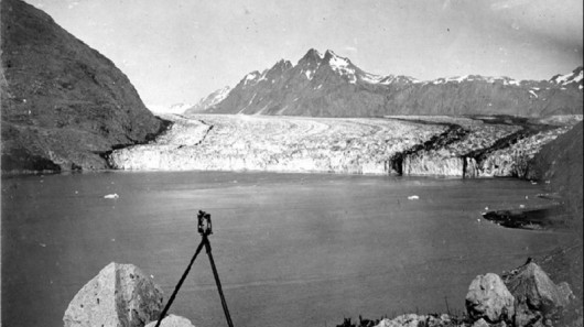 Lodowiec Carroll w 1906 roku - Alaska