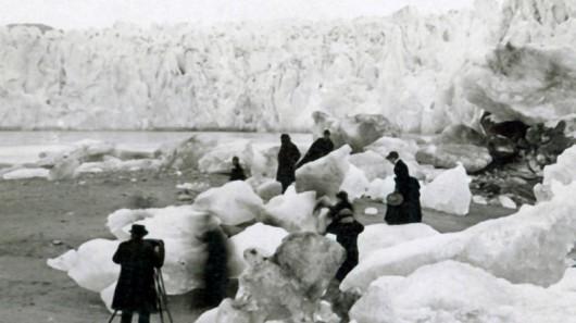 Lodowiec Muir w 1892 roku - Alaska