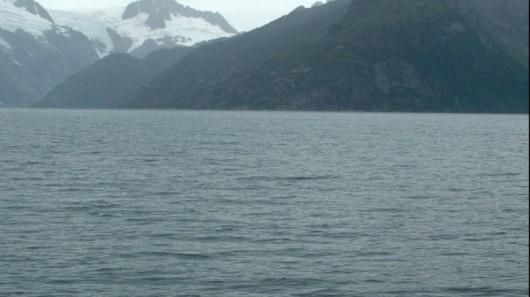 Lodowiec Northwestern w 2005 roku - Alaska