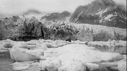 Lodowiec Pederson w 1917 roku - Alaska