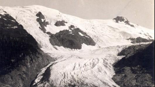 Lodowiec Toboggan w1909 - Alaska
