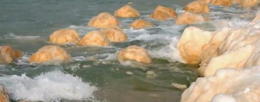 Michigan, USA - Nietypowe zjawisko na plaży Silver Beach, znów pojawiły się wielkie lodowe kule 1