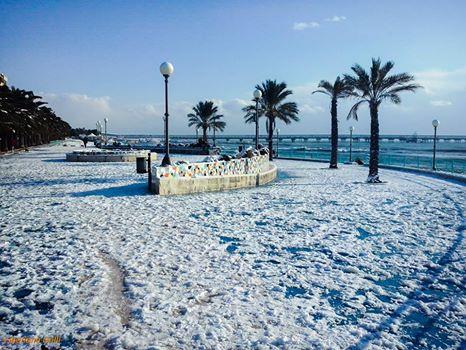 Na południu Włoch spadł śnieg, w tych rejonach to rzadkość 1