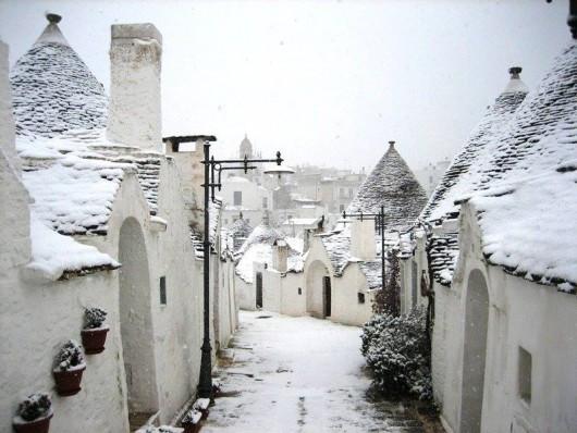 Na południu Włoch spadł śnieg, w tych rejonach to rzadkość 3