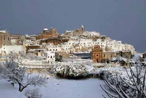 Na południu Włoch spadł śnieg, w tych rejonach to rzadkość 5