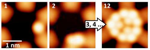Po raz pierwszy udało się monitorować proces przechodzenia pojedynczych atomów ze stanu gazowego do innego