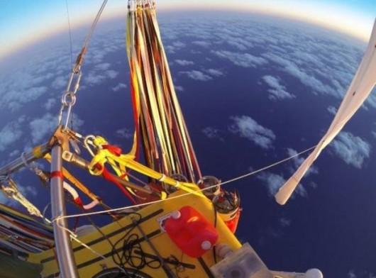Pobity został rekord odległości lotu balonem