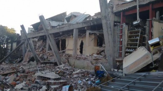 Potężna eksplozja przed szpitalem dziecięcym w centrum Meksyku 2