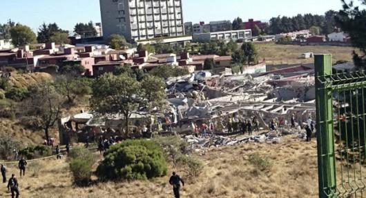 Potężna eksplozja przed szpitalem dziecięcym w centrum Meksyku 3