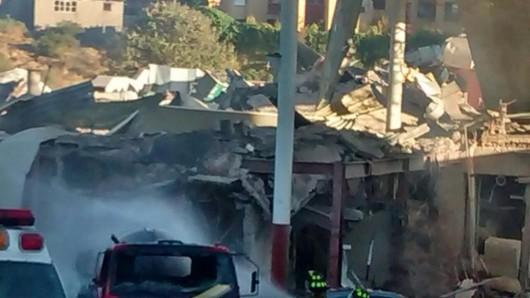 Potężna eksplozja przed szpitalem dziecięcym w centrum Meksyku