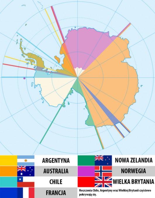 Roszczenia do skutego lodem kontynentu