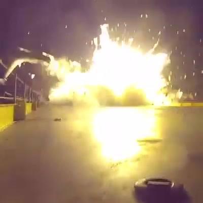 SpaceX udostępnił nagranie z nieudanej próby lądowania rakiety Falcon 9