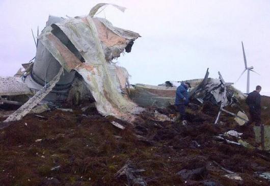 Tyrone, Irlandia - Runęła jedna z największych turbin wiatrowych 1