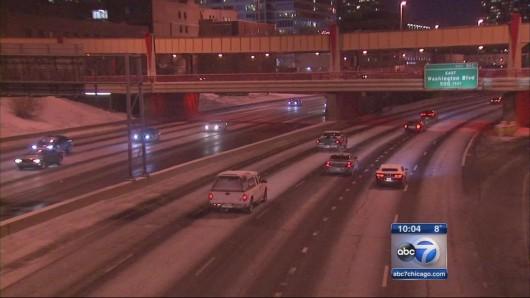USA - Śnieżyce w Chicago 2
