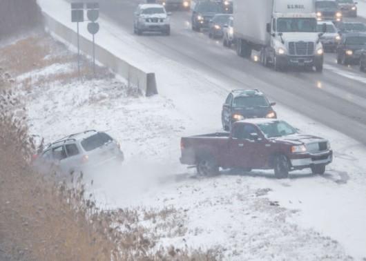 USA - Śnieżyce w Chicago 3