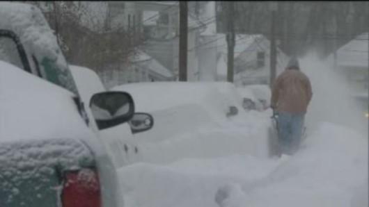 USA - Śnieg w Massachusetts 2