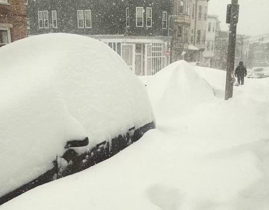 USA - Śnieg w Massachusetts 3a