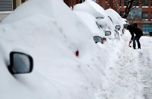 USA - Śnieg w Massachusetts 4